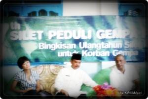 Agnes Monica dan Walikota Padang