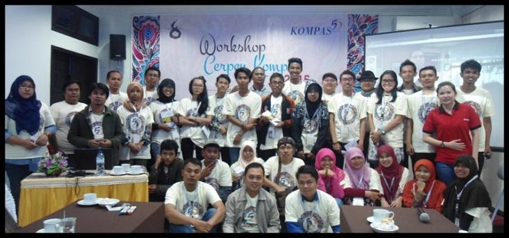 Peserta Workshop Cerpen Kompas 2015 - Padang Panjang